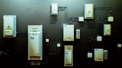 small resolution of electrical fuse boxes and wires pack by matima studio in props ue4 marketplace