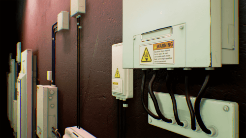 small resolution of electrical fuse boxes and wires pack by matima studio in props ue4 old 60 amp fuse
