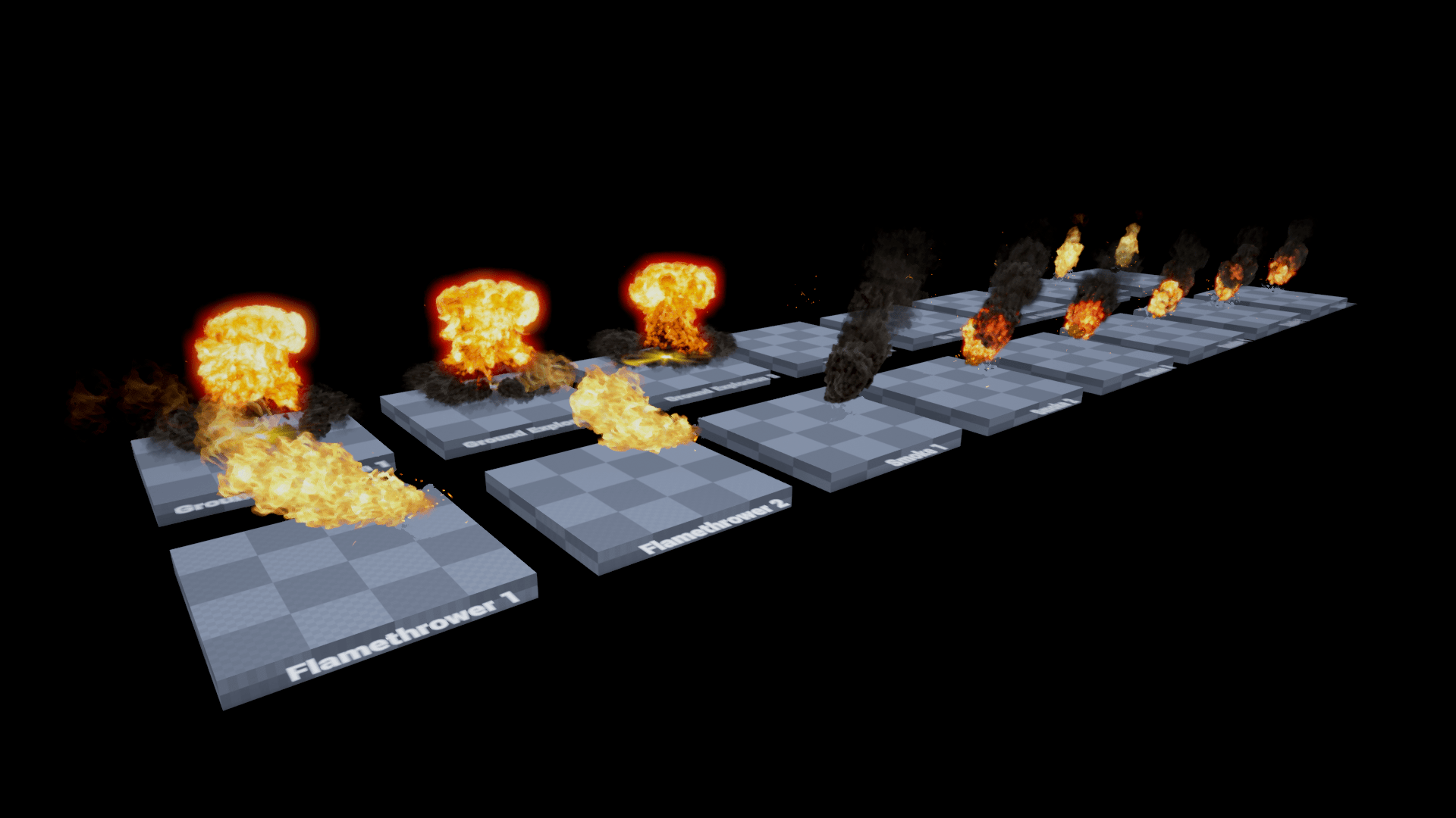realistic fire explosion pack