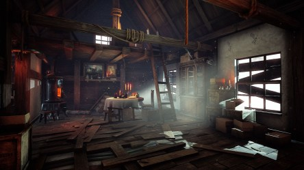 Old Wooden Cottage in Environments UE Marketplace