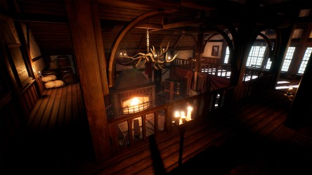 Medieval House Interior in Environments UE Marketplace