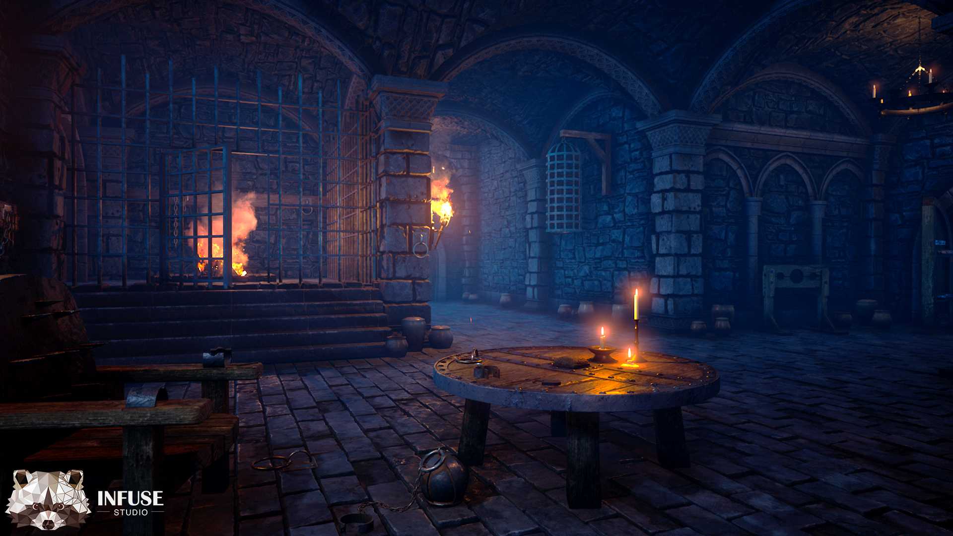 medieval dungeon by infuse