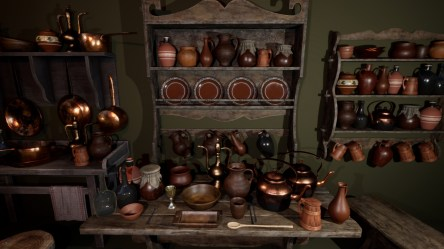 Medieval Props Vol 3 Kitchen in Props UE Marketplace