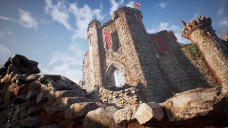 Fantasy Medieval Castle Kit in Environments UE Marketplace