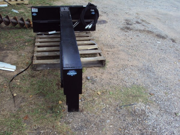 Skid Steer Log Splitter Attachment