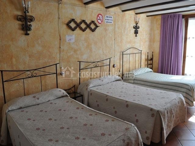 Casa Victoria en Hinojosa De Jarque Teruel
