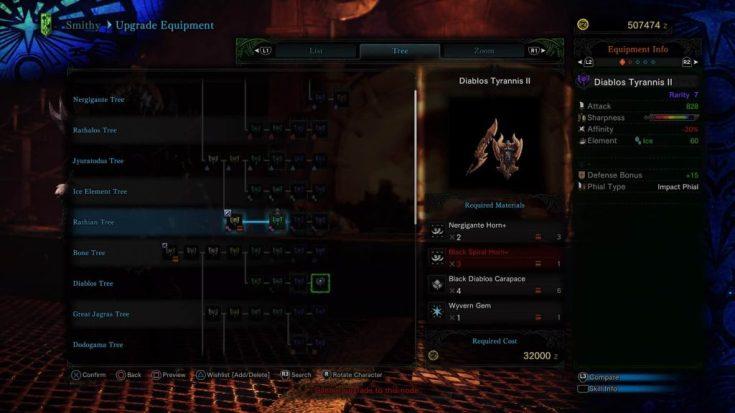 Charge Blade Guide - Diablo Tyrannis II