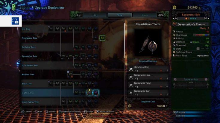 Monster Hunter World Charge Blades Nergigante 2