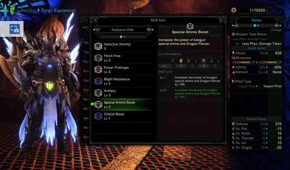 Monster Hunter World: Armor Skills Compilation