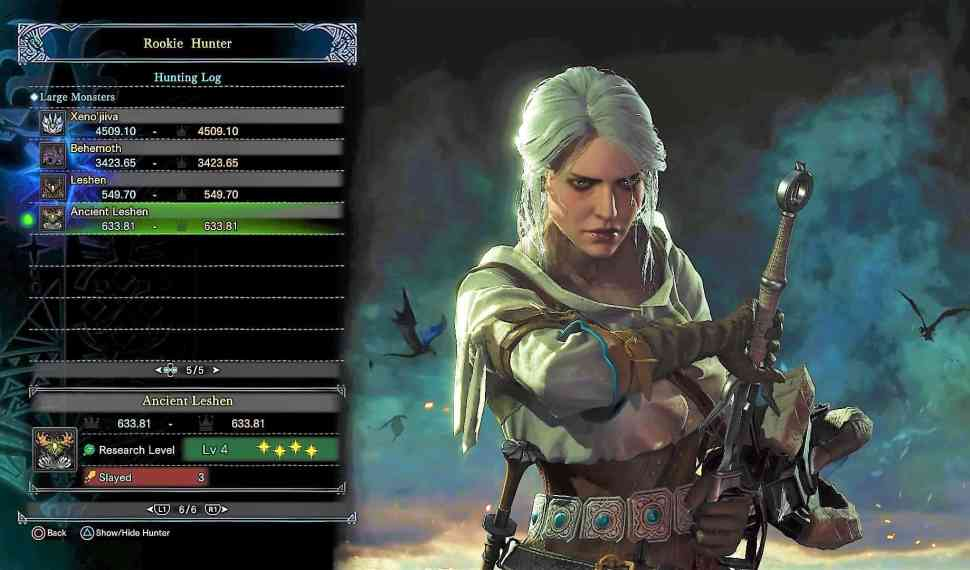 Monster Hunter World – Witcher Event- Ancient Leshen Guide!