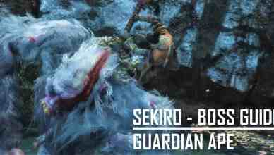 Sekiro - Guardian Ape Guide