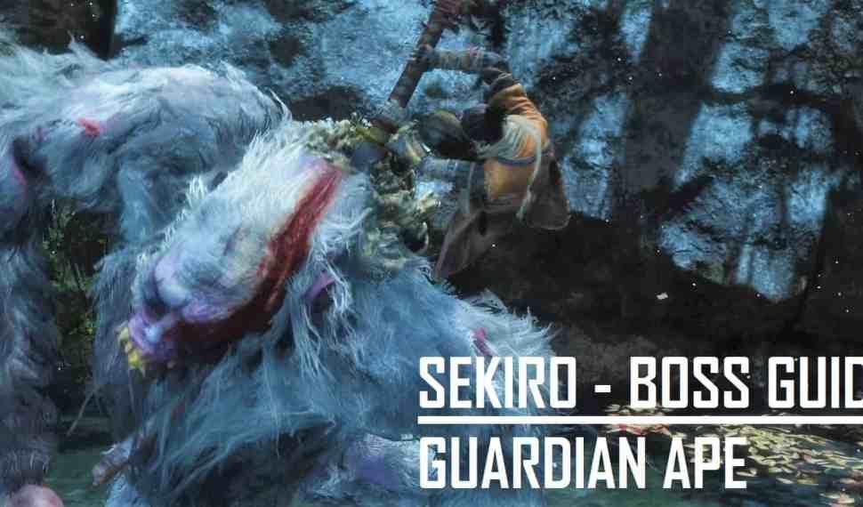 Sekiro – Boss Guide – Guardian Ape