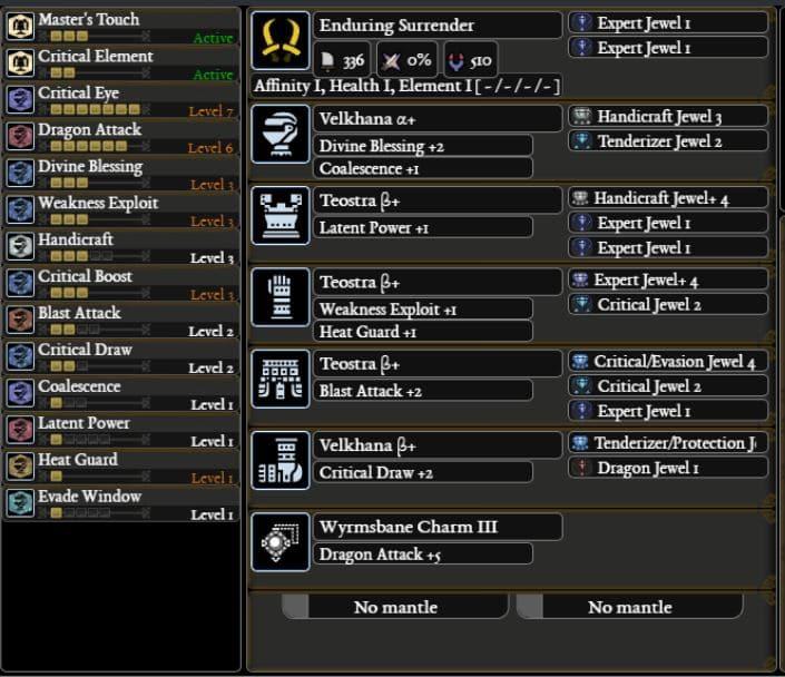 Mhw Build Iceborne Dual Blades Meta Build Guide Ethugamer