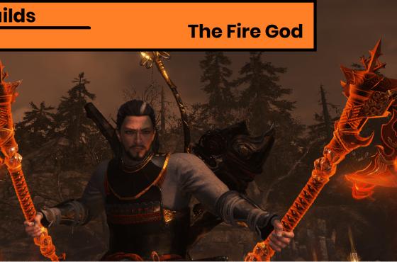 Nioh 2 Build Guide – Hatchet Build – The Fire God