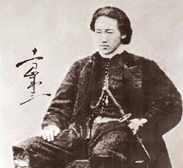 Hijikata Toshizo in Western clothes