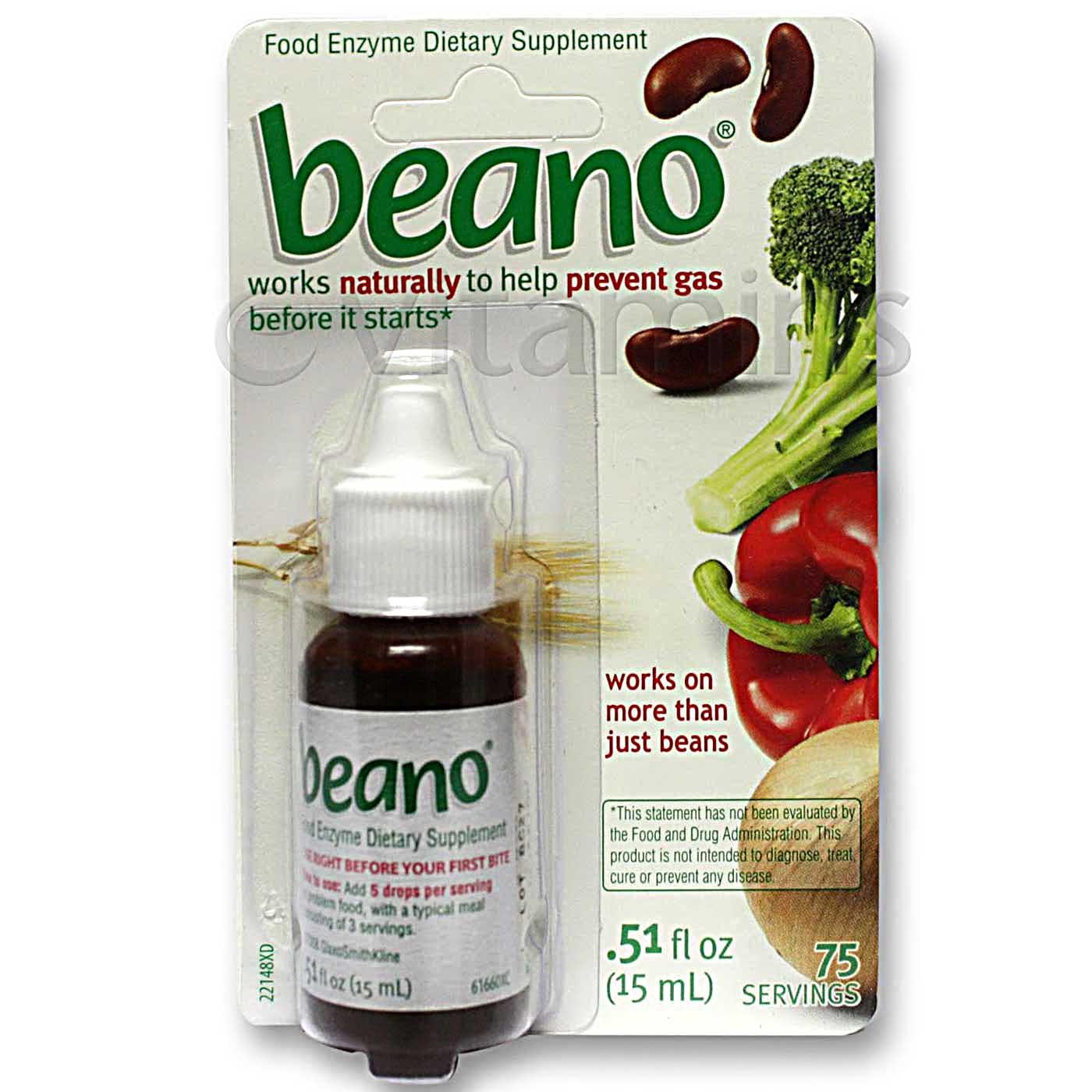 Beano Beano Drops - .51 fl oz - eVitamins.com