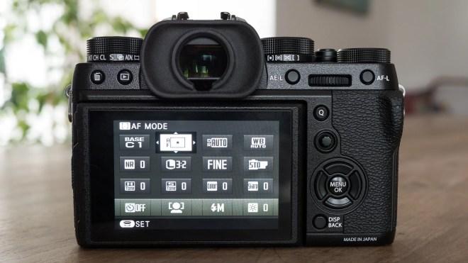 Fujifilm X-T2 back