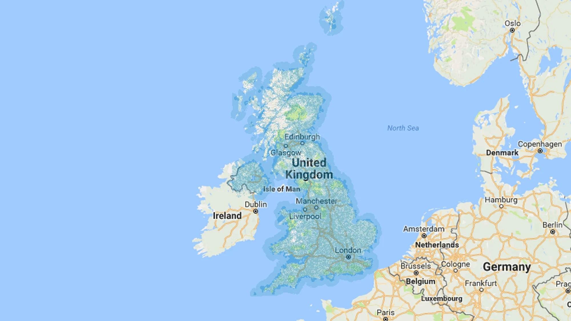 Straight Talk Coverage Area Map