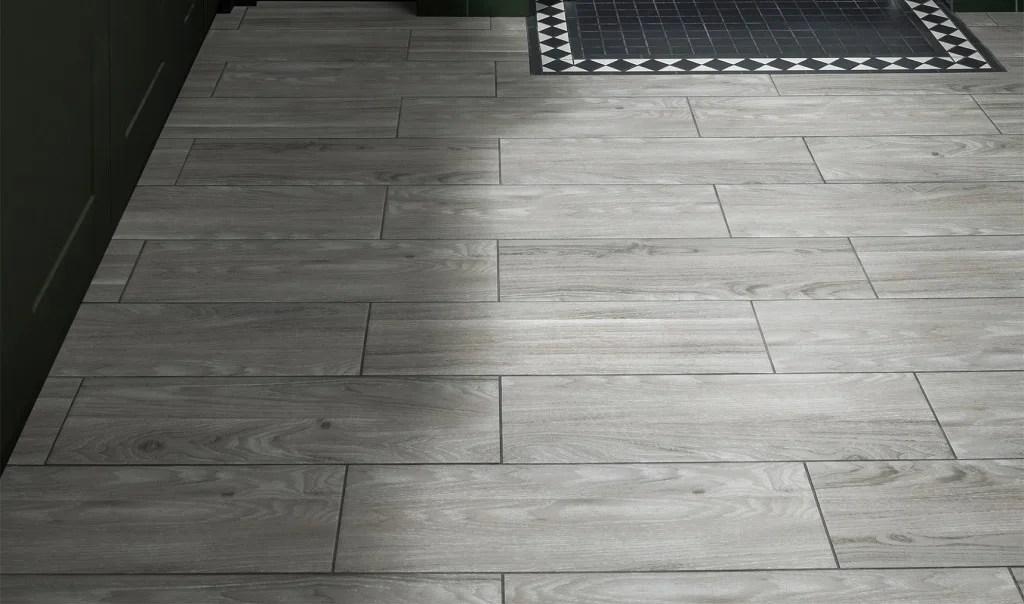 Black And Vinyl Floor White Patterns