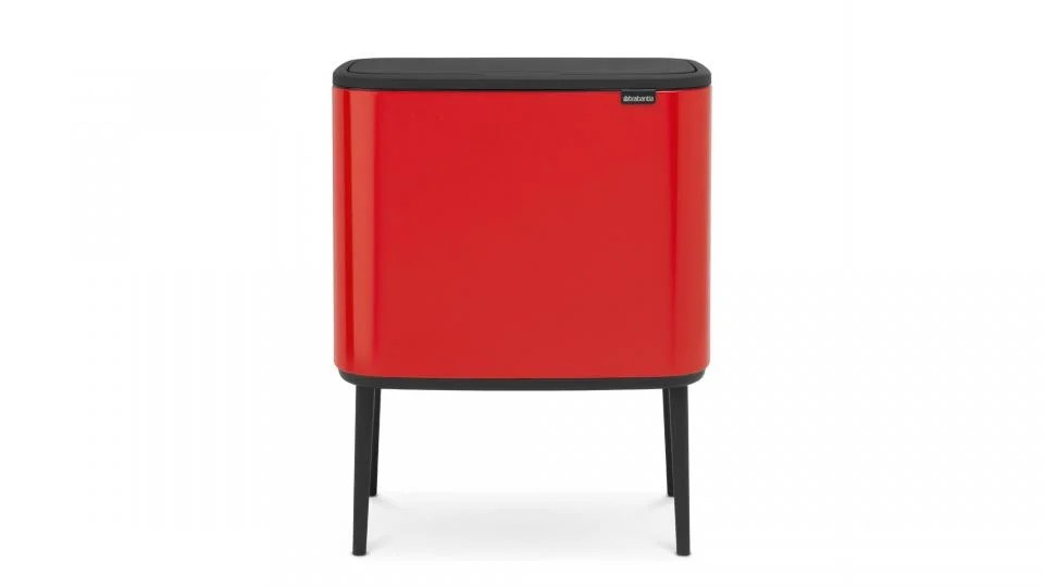 kitchen recycling bins upgrading countertops best the retro slimline and from we absolutely love this new design led offering one of known brands in business a bin that looks like anything but