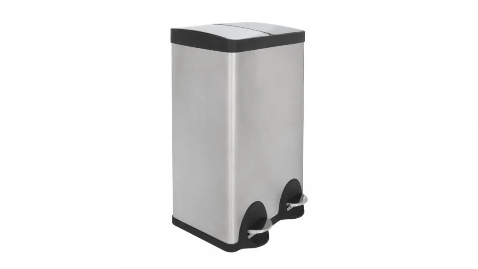 small recycling bins for kitchen bargain outlet cabinets best the retro slimline and from say goodbye to going back forth with bags of rubbish this stainless steel bin you essentially get two price one