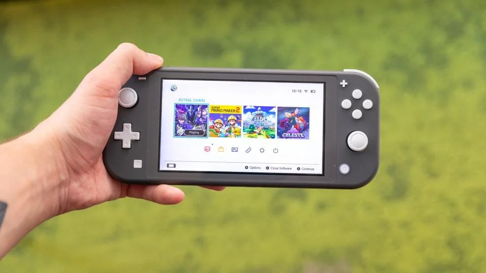 Nintendo Switch Lite Review Switching Up The Formula