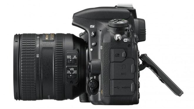 Nikon D750 side