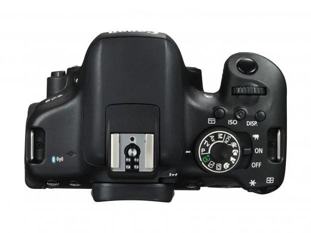 Canon EOS 750D top