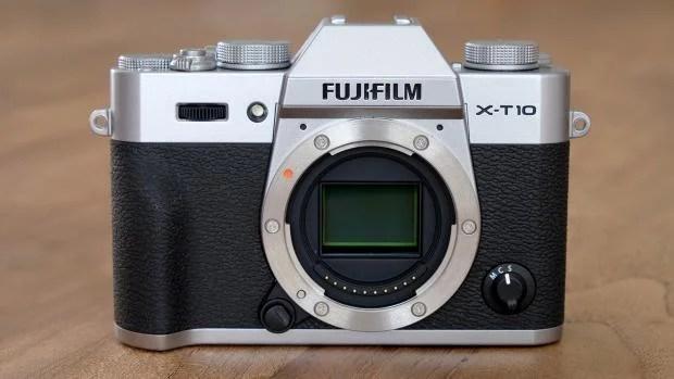 Fujifilm X-T10 sensor