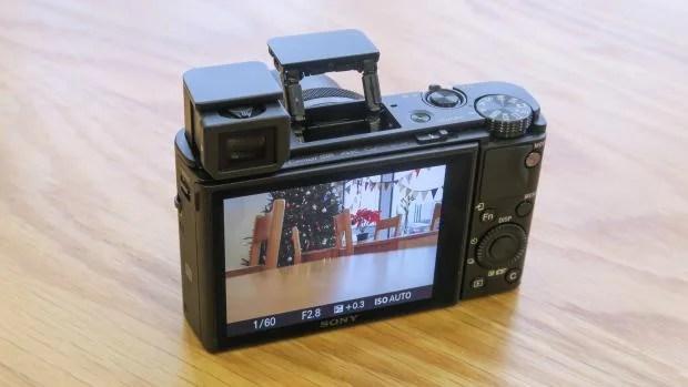 Sony RX100 IV EVF 2