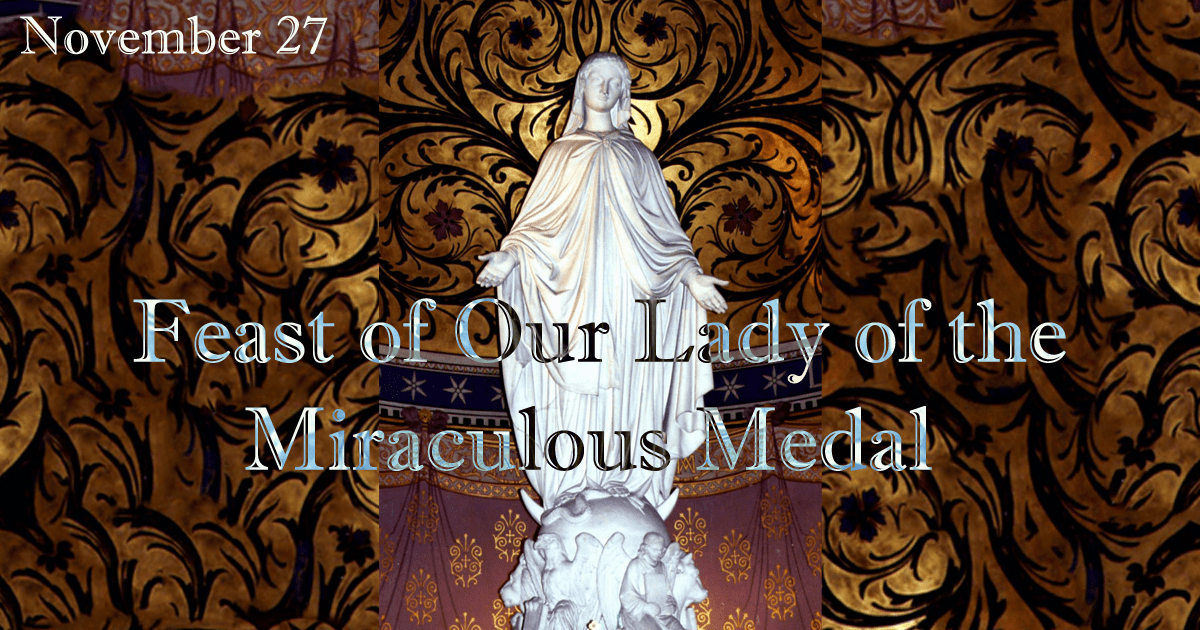 the miraculous medal reflection