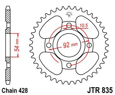 TZR80 RR 1996 Chain & Sprocket Kit