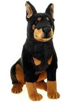 Doberman Pinscher Plush By Fiesta Toys Shop Online For