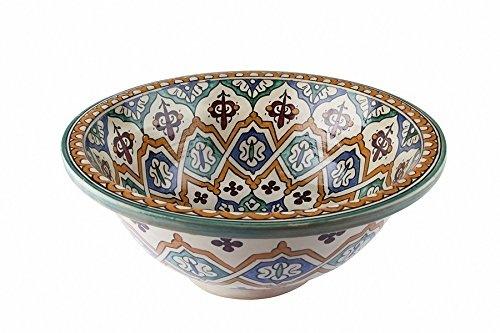fes ceramic hand painted
