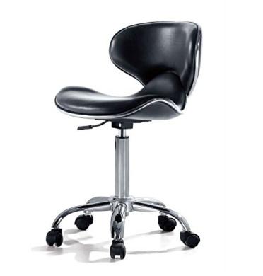 Urbanity Hairdressing Beauty Manicure Nail Technician Salon Chair Stool Seat Black