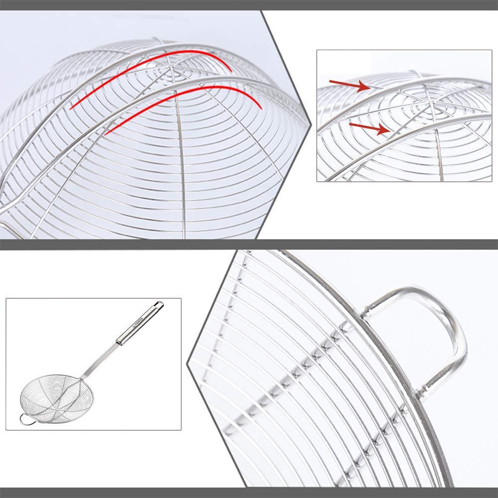 medium resolution of  spider strainer wire strainer skimmer colander stainless steel handle with hook 14cm 1pc by tenta kitchen shop online for kitchen in new zealand