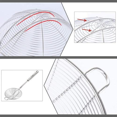 small resolution of  spider strainer wire strainer skimmer colander stainless steel handle with hook 14cm 1pc by tenta kitchen shop online for kitchen in new zealand