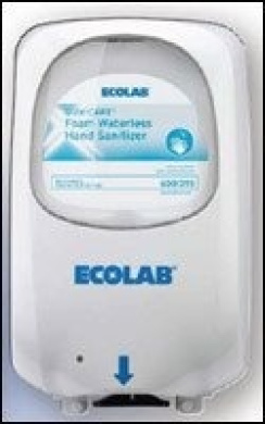 kitchen countertop soap dispenser cheap remodels ecolab ng touch-free hand 9202-1121 by ...