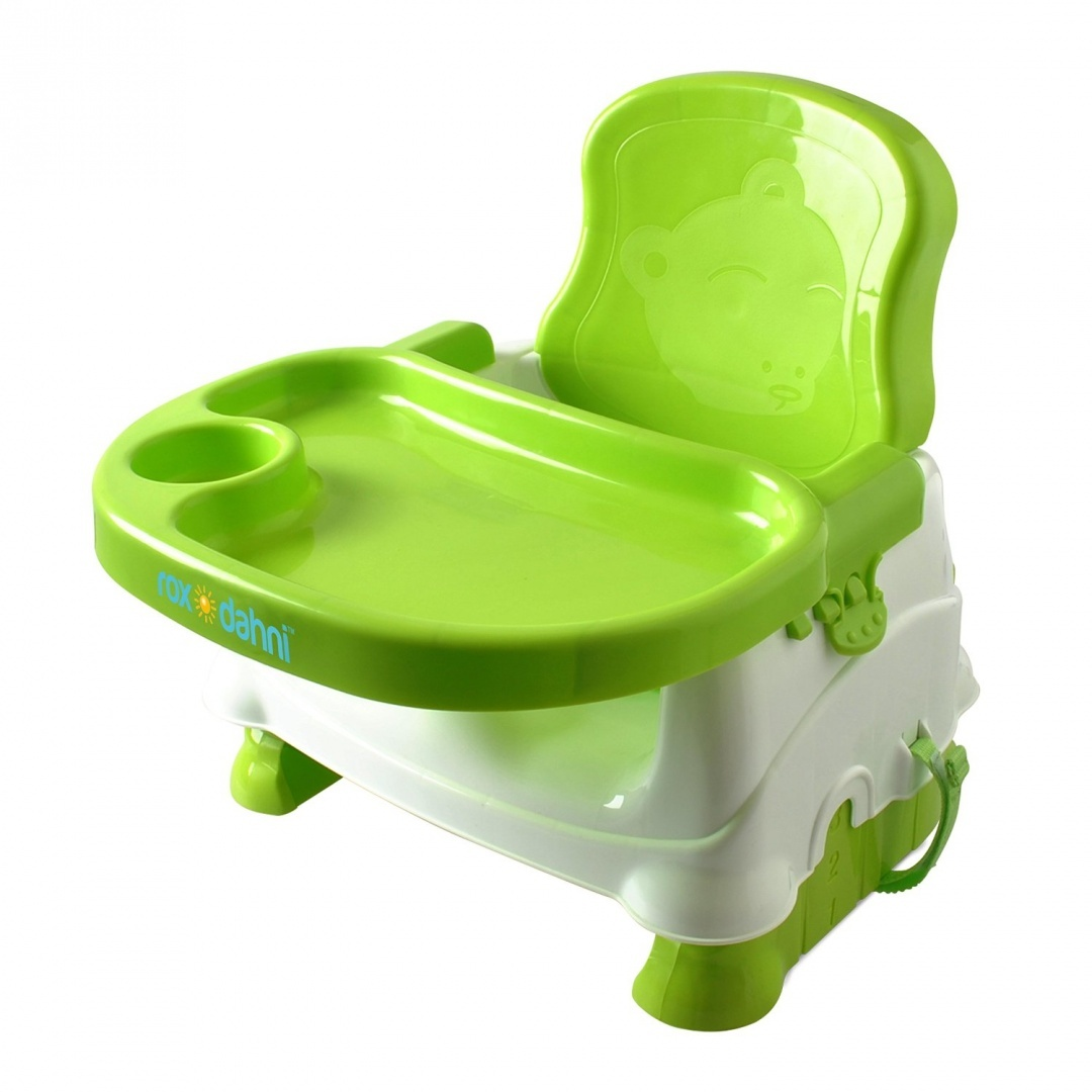 Booster High Chair Seat Booster Seat For Dining Toddlers Portable High Chair Booster Seat Best Booster Seats For Eating With 3 Point Harness Secures Baby Tightly While You