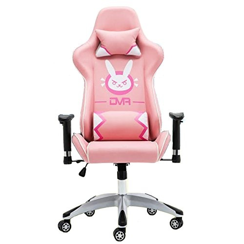 gaming office chairs australia awesome desk overwatch d va dva bunny computer swivel chair pink by buy online