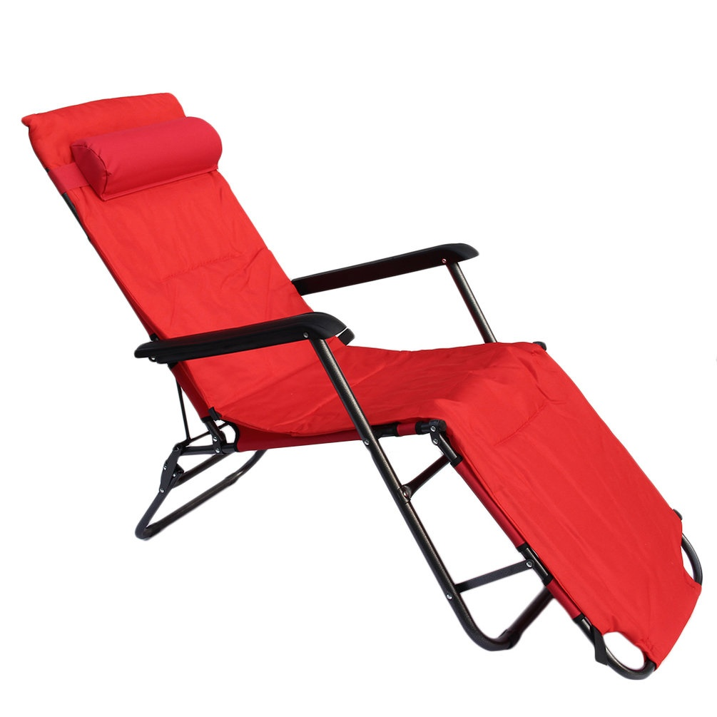 Foldable Bed Chair Multifunction 178 60 88cm Garden Recliners Chair Foldable Take