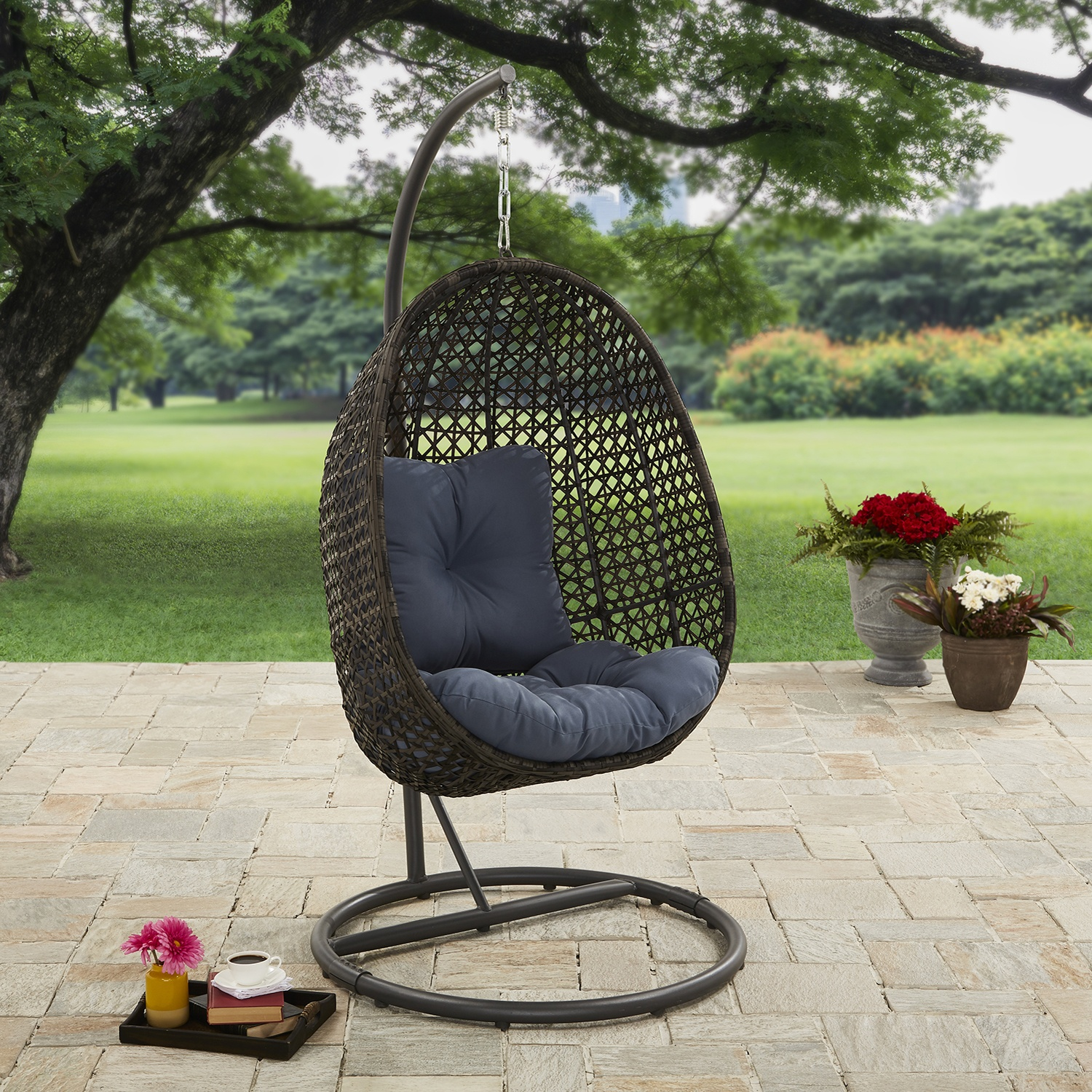 egg chair stand australia covers basingstoke lantis woven hanging with by better homes and gardens shop online for homeware in