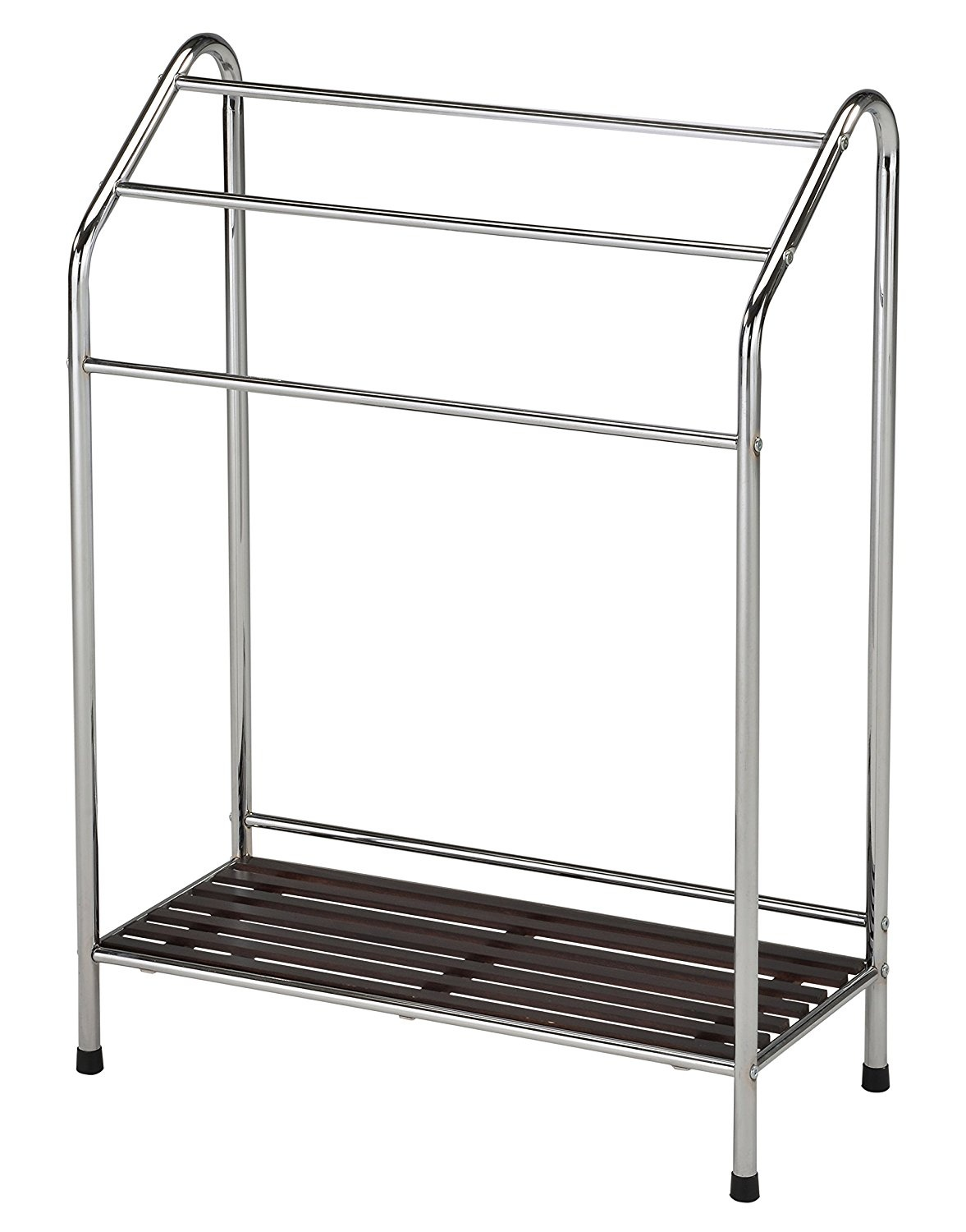Bathroom Towel Stand Kings Brand Victory Chrome Free Standing Bathroom Towel Rack Stand With Shelf