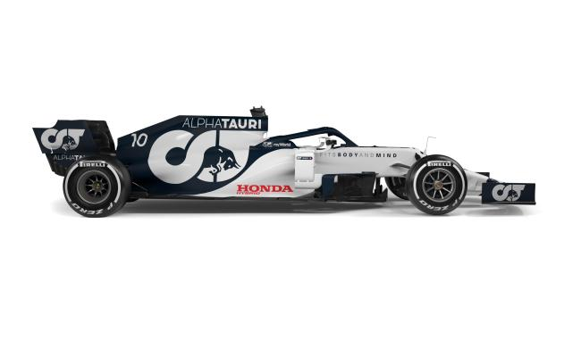Formula 1 Pictures Alpha Tauri S New Look For The At01