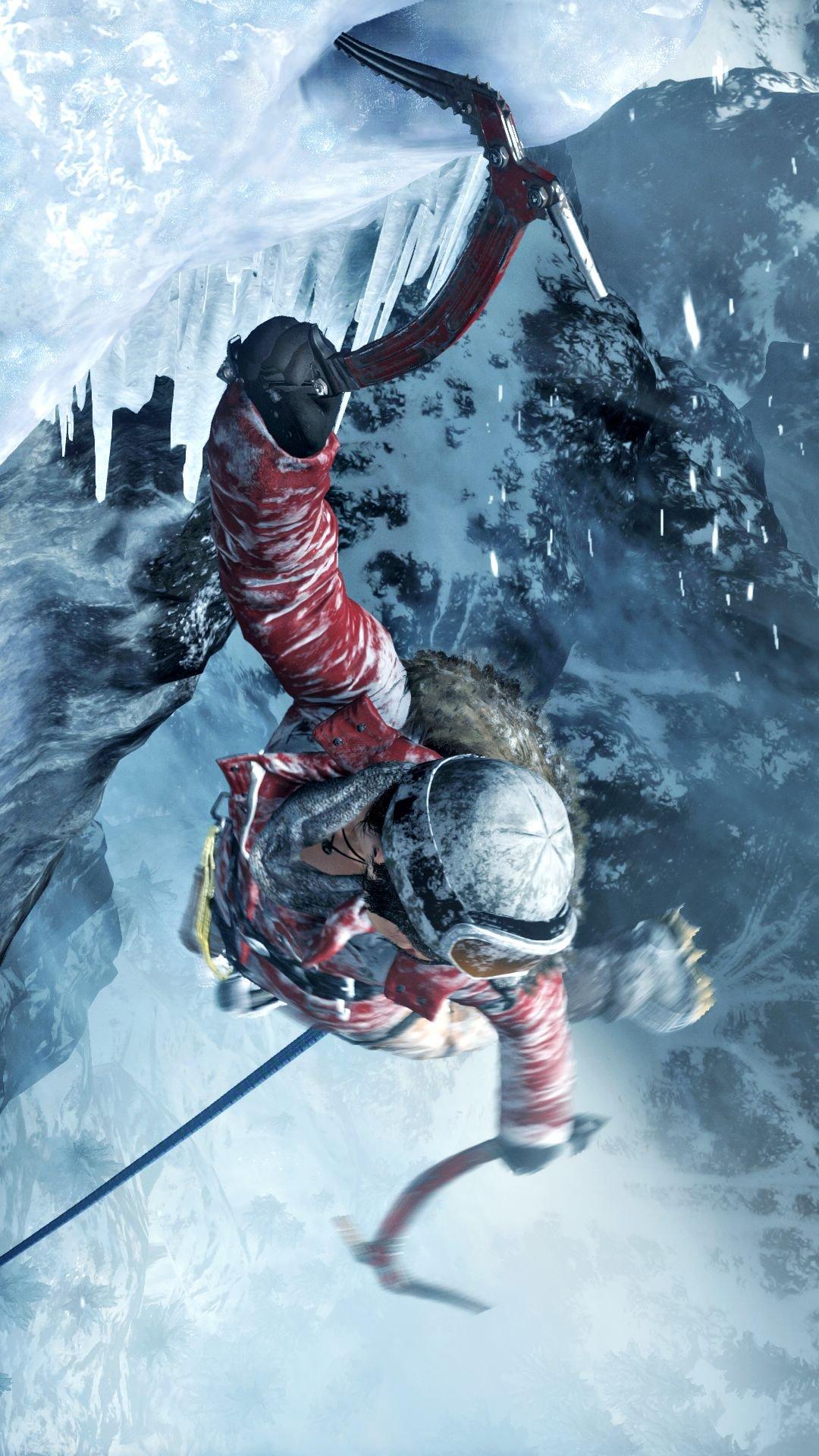 Tomb Raider Iphone 5 Wallpaper New Rise Of The Tomb Raider 1080p Xbox One Screenshots