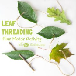 Leaf Threading - The Mud Kitchen