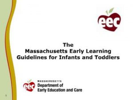 massachusetts early learning standards