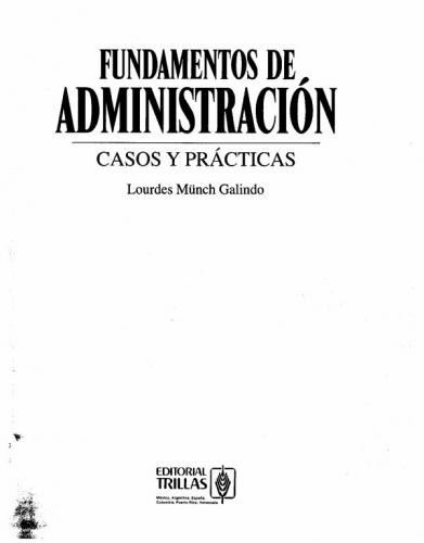 Documento Fundamentos de administracion. Much Galindo