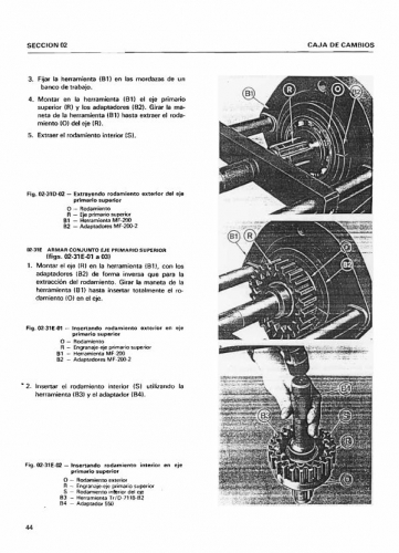 Documento Manual de taller Tractores Ebro 155 E- 160 E