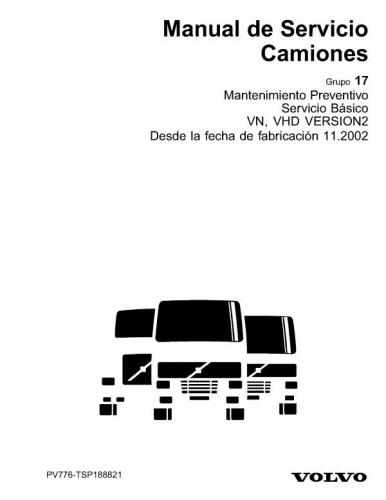 Documento Manual Mantenimiento Camiones Volvo White
